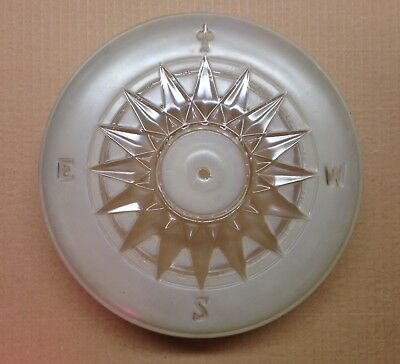 Vintage ArtDeco Light Cover Glass Ceiling