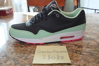 b3631ef7a58953 Nike Air Max 1 FB BLACK FRESH MINT GREEN PINK FLASH WHITE YEEZY 579920-066