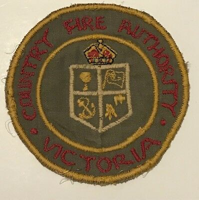Early CFA Country Fire Authority patch Victoria - Kings Crown