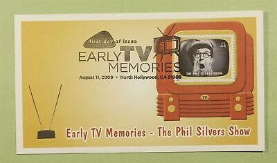 DR WHO 2009 FDC EARLY TV MEMORIES FLEETWOOD NORTH HOLLYWOOD CA b01403