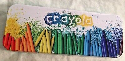 Crayola Tin Storage Box  Official Licensed Product New without Tag