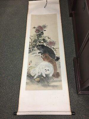 Old Chinese Scroll Painting