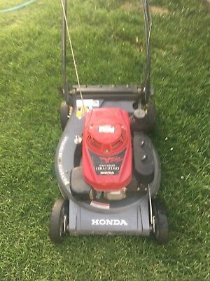 honda 216 lawn mower self propelled