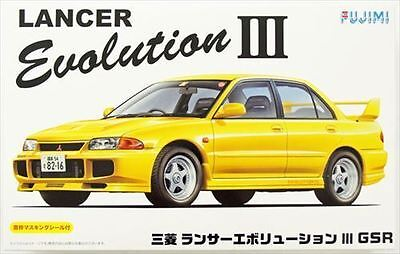 Fujimi ID-34 1/24 Mitsubishi LANCER EVOLUTION III GSR Rare from Japan