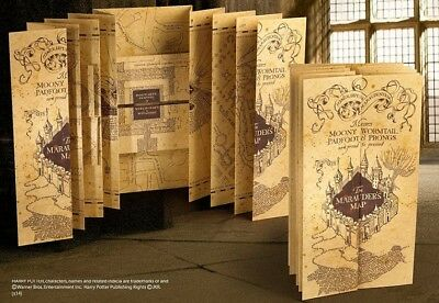 Harry Potter - Réplique Carte du Mauraudeur (Marauder's Map) - Noble Collection