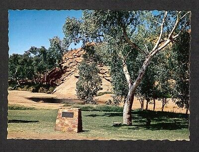 "NT - c1970s POSTCARD - ""ALICE SPRINGS"" WATERHOLE THAT GAVE THE TOWN ITS NAME, NT"