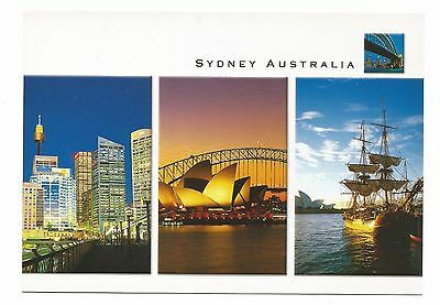 NSW - c1990s POSTCARD - VIEWS OF SYDNEY LANDMARKS, SYDNEY, NEW SOUTH WALES