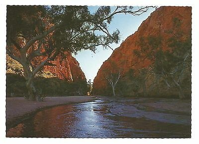NT - c1970s POSTCARD - SIMPSON'S GAP, WEST MACDONNELL RANGES, NORTHERN TERRITORY