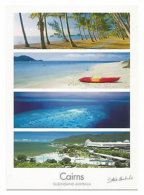 QLD - c2000s POSTCARD - CAIRNS ESPLANADE LAGOON, CAIRNS, QUEENSLAND