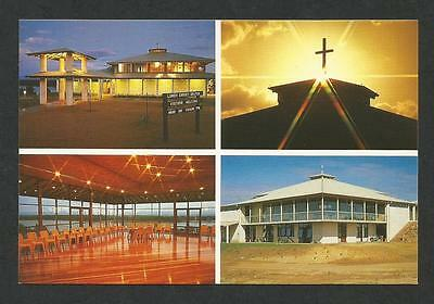 WA - c1970s POSTCARD - FOUR VIEWS LUMEN CHRISTI CATHOLIC CHURCH, AUGUSTA, WA