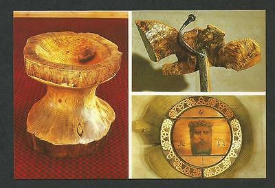 WA - c1970s POSTCARD - THREE ARTIFACTS OF LUMEN CHRISTI CATHOLIC CHURCH, AUGUSTA