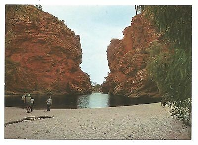 NT - c1990s POSTCARD - ELLERY CREEK GORGE, WEST MACDONNELL RANGES, NT