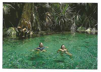 NT - c1970s POSTCARD - MATARANKA THERMAL POOL, NORTHERN TERRITORY