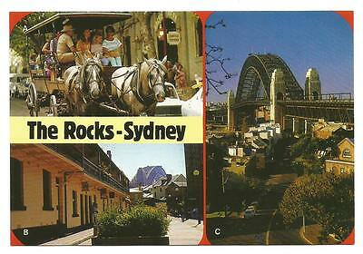 NSW - c1980s POSTCARD - ARGYLE TAVERN & ARGYLE PLAZA, THE ROCKS, SYDNEY, NSW