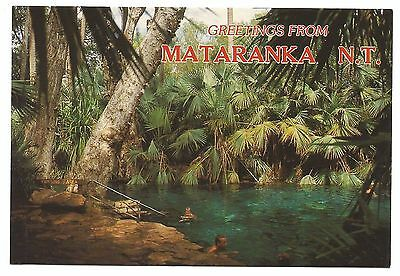 NT - c1980s POSTCARD - THERMAL POOL, MATARANKA, NORTHERN TERRITORY