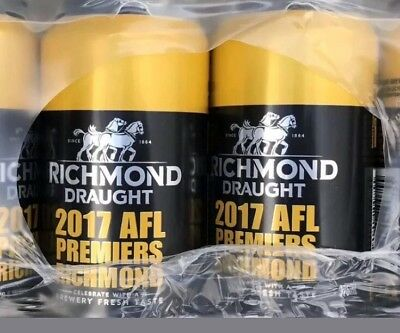 Richmond Tigers AFL Beer Limited Edition Six Pack - 2017 Premiership - New