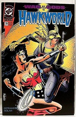 """HAWKWORLD"" Issue # 16 (Oct, 1991) DC Comics/ Comic Book (HAWKMAN Spin-Off)"
