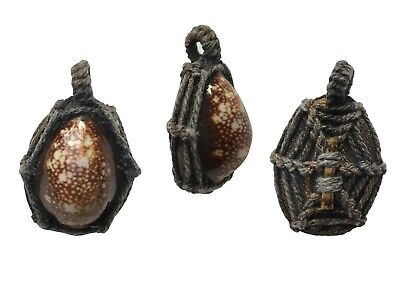 Bia Kae Takrud Shell Thai amulet Buddha Talisman charm Protect Anti Back Magic