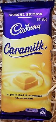 Chocolate Caramilk. Stock excellent - date of stock provided.