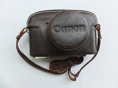 Vintage Canon VL Case and Strap