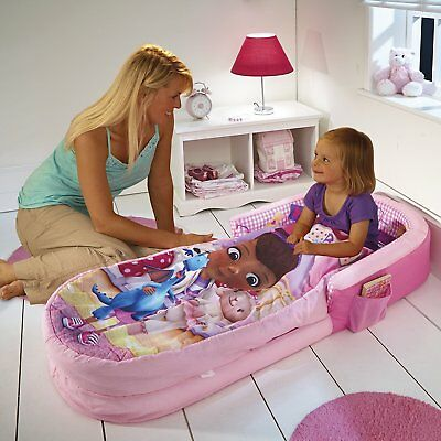 Disney ReadyBed Doc McStuffins Airbed and Sleeping Bag In One