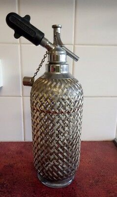 Vintage Sparklets Soda Syphon Glass Bottle