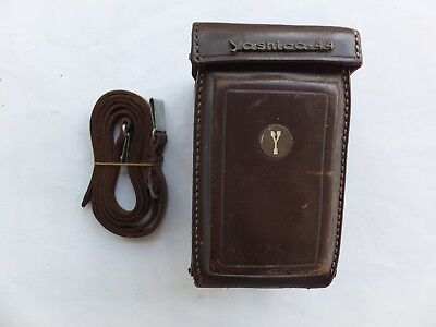 Vintage Yashica 44 Case and Strap