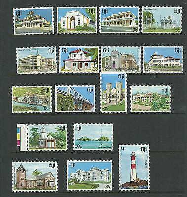 1979 Architecture Set of 17 Complete MUH/MNH as Issued No 4c 582a or 8c 724