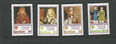 1979 Year of The Child Paintings SG 504-507  Complete MUH/MNH as Issued
