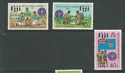 1974 Scout Jamboree Set of  3 SG 499-501 Complete MUH/MNH as Issued