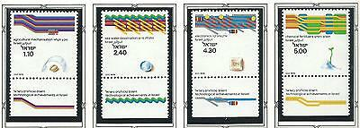 1979 Technical Achievements set 4 all with Tabs  MUH/MNH