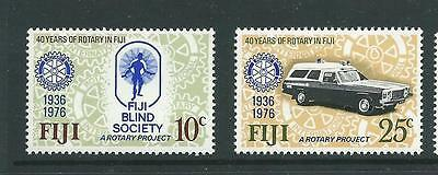 1976 Rotary 40th Anniversary set of 2 SG 530- 531 Complete MUH/MNH as Issued