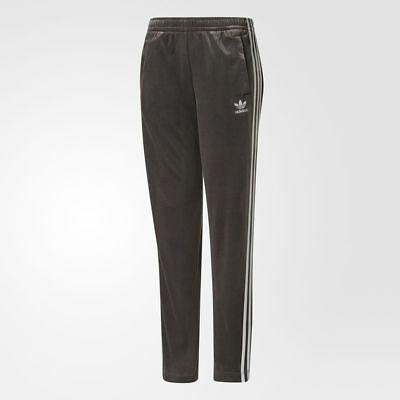 Adidas Girls Originals Velour Track Pants Jogger Age 7-8 Years BNWT RRP £36.90