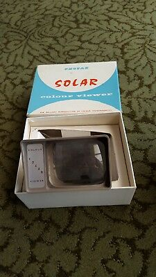 Vintage Photax Solar Colour Viewer