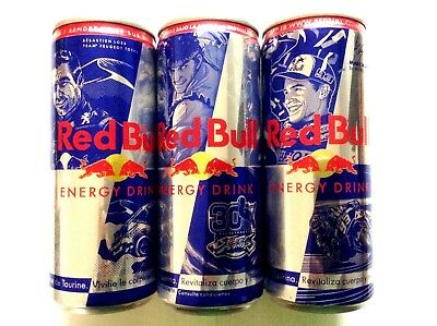 """Red Bull Empty Unopened Can  """"heroes"""" For Redbull Cans Collectors"""
