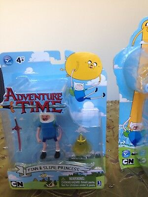 Adventure Time Colectible Figure Finn and Slime Princess Series 13