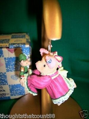 This Little Piggy 1995 DATED ORNAMENT *NIB 145882 * FREE USA SHIPPING