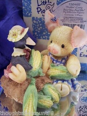 This Little Piggy NOTHIN' CORNY BOUT YOU& ME 136492 NIB * FREE USA SHIPPING