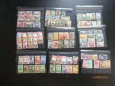 100 various marks morocco, spanish occupation, postmarked + mint