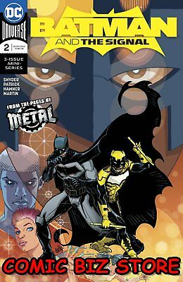 Batman And The Signal #2 (Of 3) (2018) 1St Printing Dark Nights Metal Tie-In