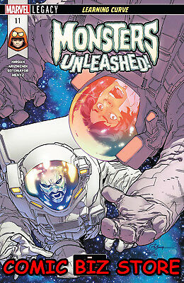 Monsters Unleashed #11 (2018) 1St Print Legacy Bagged & Boarded Ongoing Series