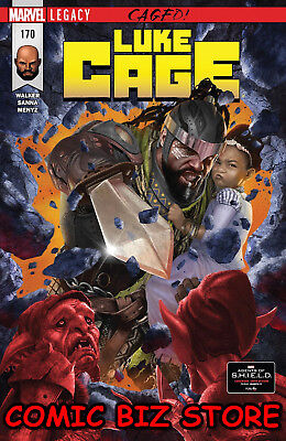 Luke Cage #170 (2018) 1St Printing Defenders - Netflix  Bagged & Boarded Legacy