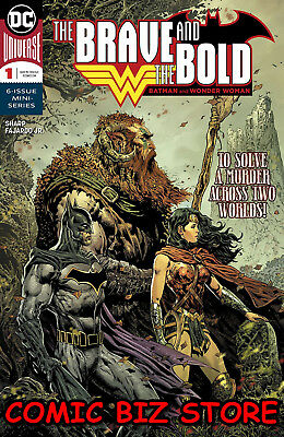 Brave & The Bold Batman & Wonder Woman #1 (2018) 1St Printing Dc Comics Universe