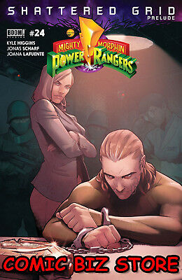 Mighty Morphin Power Rangers #24 (2018) 1St Printing Main Cover Boom
