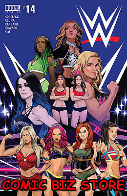 Wwe #14 (2018) 1St Printing Main Cover Bagged & Boarded Boom Studios
