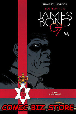 James Bond M #1 (One-Shot) (2018) 1St Printing Shalvey & Bellaire Cover A 007