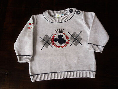 "Pull Mickey ""Disney Baby"" - Taille 3 mois"