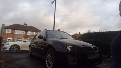 Black MG ZR Good condition Sporty collect Manchester