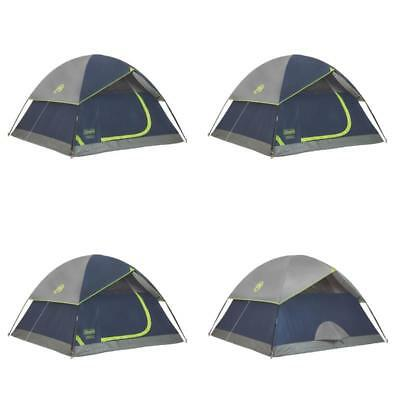 Coleman Sundome 4 Person Outdoor Hiking C&ing Tent W Rainfly Awning | 9u0027 X 7  sc 1 st  PicClick & COLEMAN SUNDOME 4 Person Outdoor Hiking Camping Tent w/ Rainfly ...