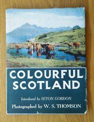 Colourful Scotland. Photographed by W.S. Thomson. 1956. 53 colour plates